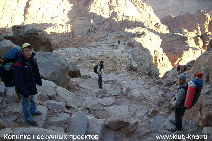 Восхождение на гору Моисея