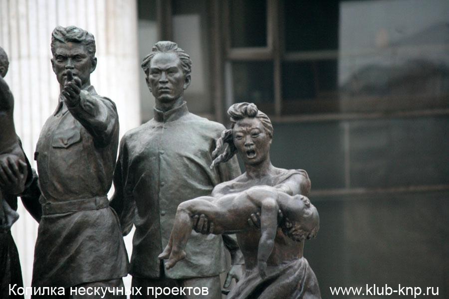 Музеон Памятник Мухиной