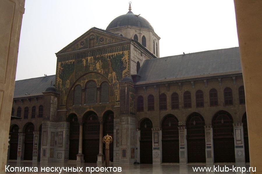 Столица с мечетью Омейядов