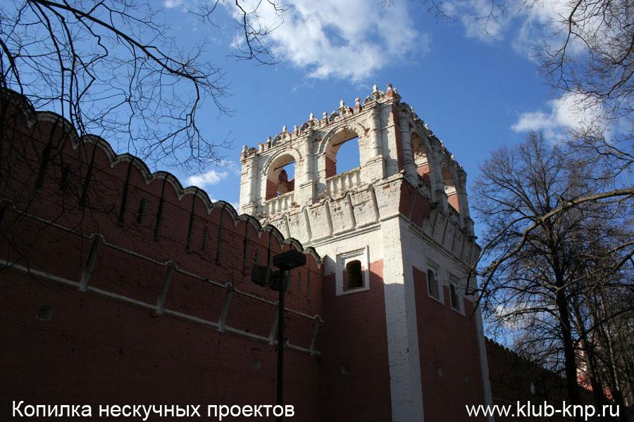 Донской мужской монастырь в Москве