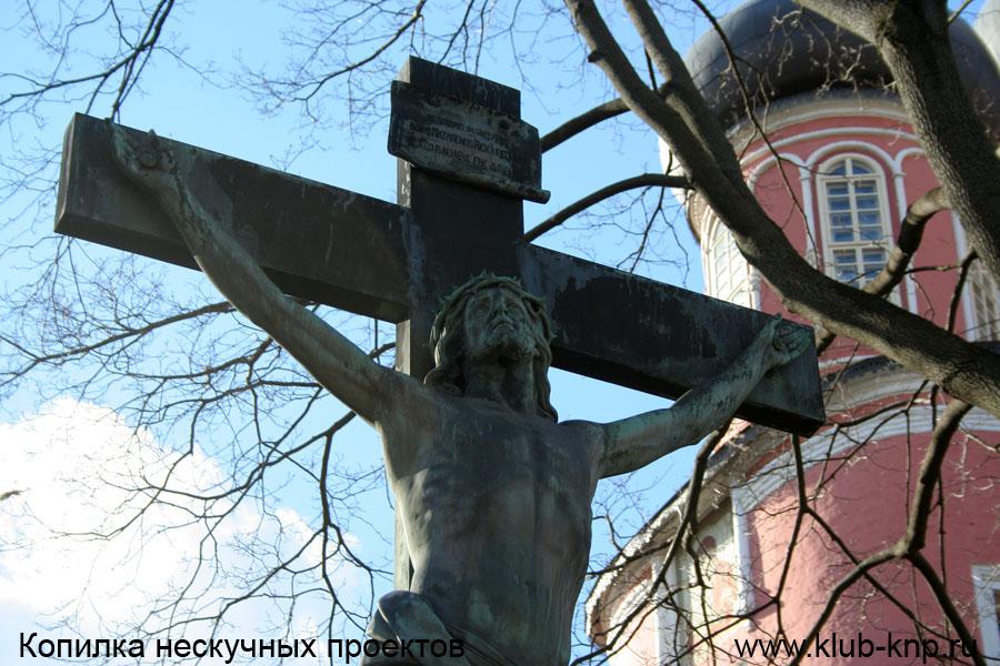 Некрополь Донского монастыря в Москве