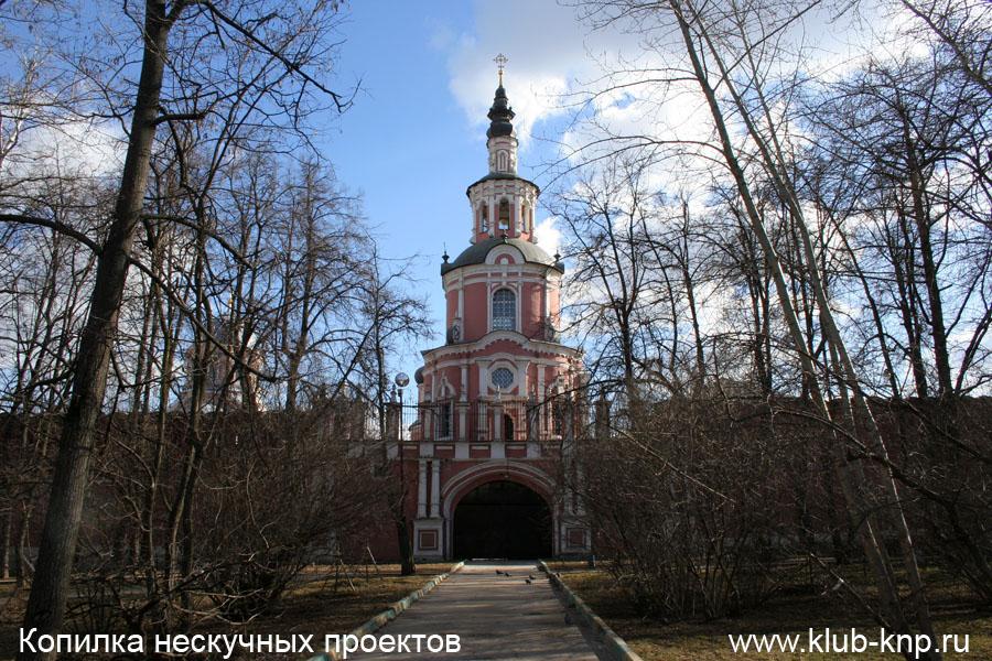 Вид на Донской монастырь