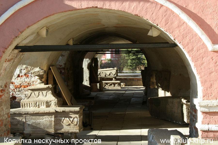 Фрагмент собора в Донском монастыре