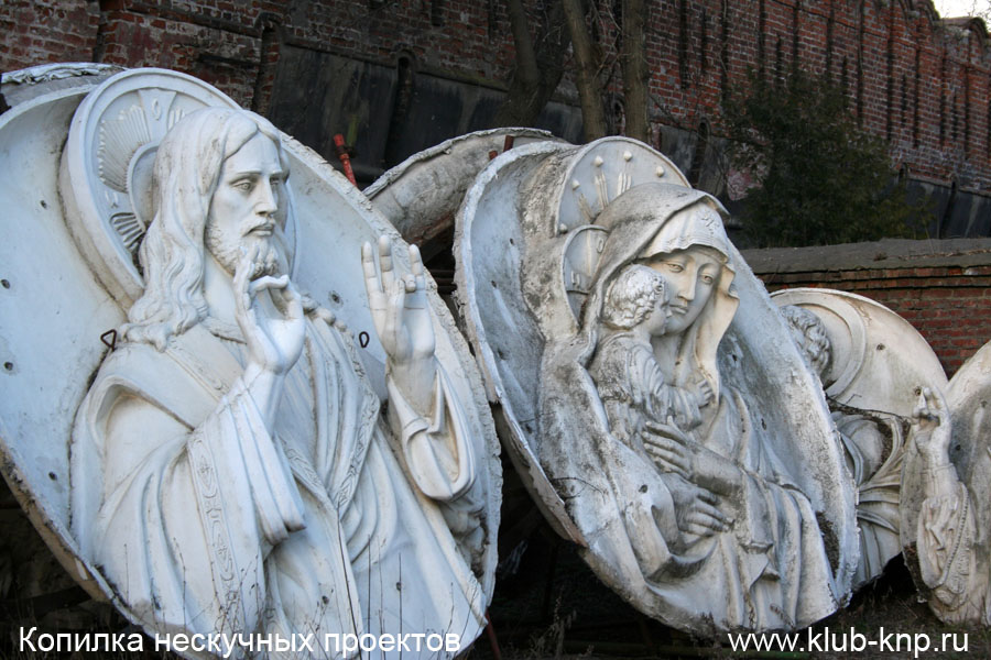 Элементы с разрушенных церквей