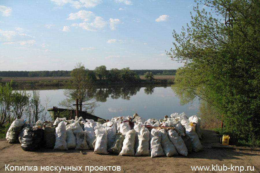 Уборка мусора Пущино