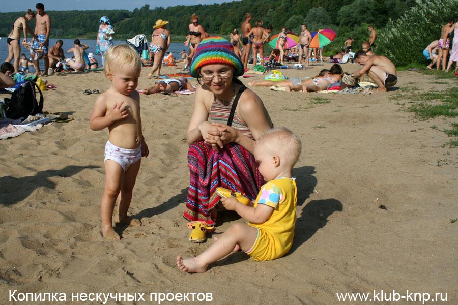 Пляж в Поленово