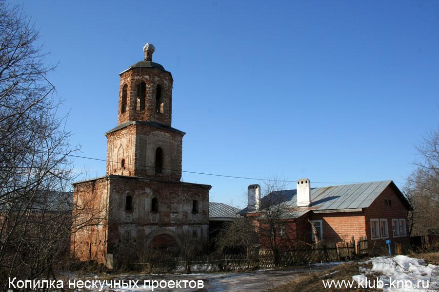 Колокольня Распятского монастыря