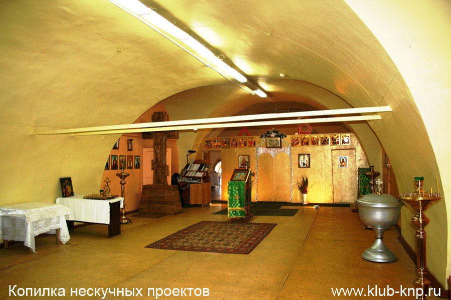 Место службы в храме Серпухов