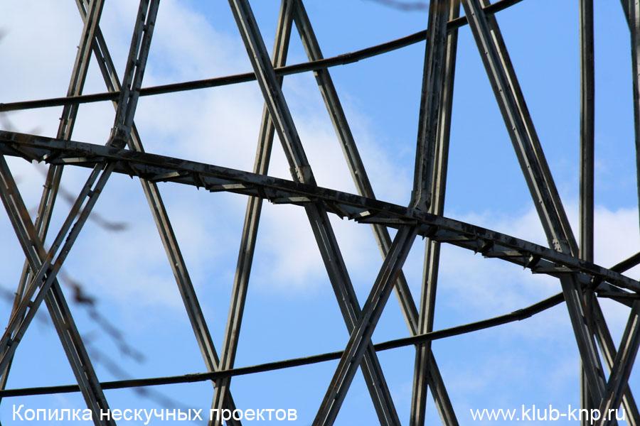 Как строилась Шуховская башня?
