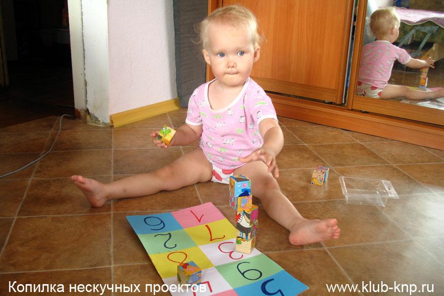 Как научить ребенка цифрам в 3 года